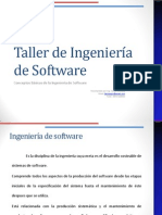 1-Taller de Ingeniería de Software