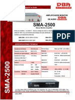 SMA-2500 -2005