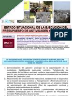 Ppt Hernan Vmt Situac Presup 28 oct 2015 Villa María del Triunfo