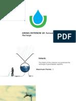 18. Rainwater Recharge