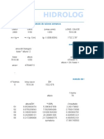 Calculos de Pendientes y Parametros CAROLINA