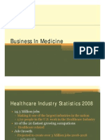Business in Medicine