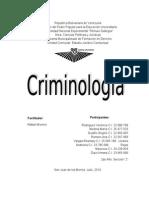 Criminologia Trabajo Completo