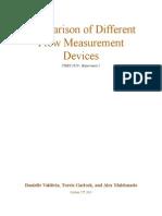 Flow Measurement Lab Report.docx