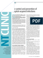 040720The Control and Prevention of Hospital Acquired Infections