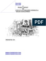 Free Download Mba Marketing Project on Lg Marketing and Distribution