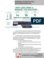 Increased database performance and reduced costs with Dell PowerEdge FX2 & VMware Virtual SAN