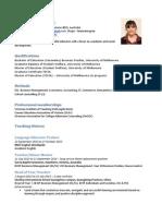 lm resume oct 2015
