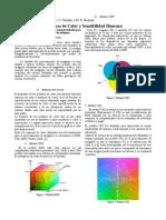 Mapas de Color y Sensibilidad Humana