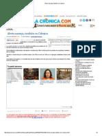 Contaminación - Alerta Naranja, También en Calexico - La Cronica Mexicali