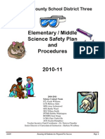 florence county school district three elementary science safety procedures