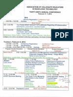 acert confrence schedule