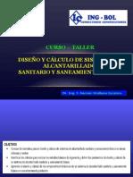 CAPITULO 1 - Introducción Al Diseño y Cálculo de Sistemas de Alcantarillado y Saneamiento