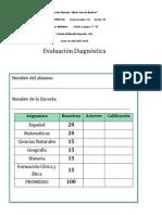 Hernández Acevedo Karla Primaria Evaluación Diagnóstica