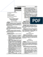 Ley 29709- Ley de la Carrera Pública Penitenciaria