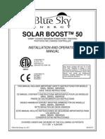 Solar Boost 50L Manual