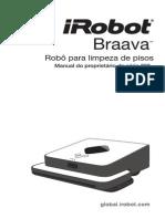 Braava320 - Robo Para Limpeza de Pisos .manual PT