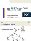 Ppt - Advanced OPNET Tutorial LTE Access