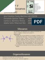 Siloxanos y Organosiloxanos