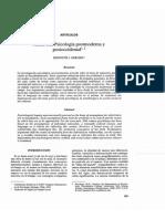 Hacia Una Psicologia Postmoderna y Postoccidental