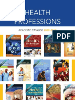 Health Professions Catalog - 2009