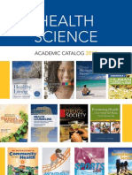 Health Science Catalog
