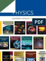 Physics Catalog