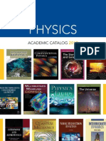 Physics Catalog