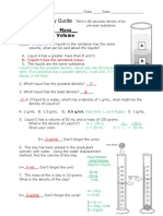 density study guide answers