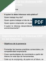 Importanica de Los ERPs