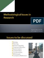 Methodologic Issues 2h