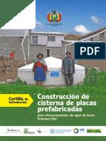 Cartilla Construccion de Cisternas