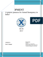 Armed Insurgency In India