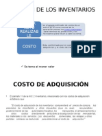 COSTO DE ADQUISICION NIC 2