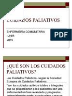 CUIDADOS PALIATIVOS 2015