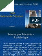icms substituição tributaria