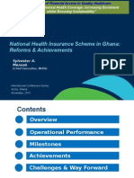 Nhis Ghana - Overview Reforms Achievements Version 3