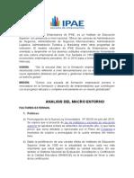 Analisis Del Micro y Macro Entorno