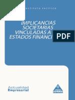 Implicancias Societarias Vinculadas a EEFF