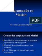 Program an Do en Matlab Expo