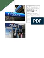 Citibank Umbrella Logo