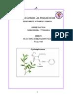 Guia de Farmacognosia y Fitoquímica