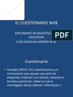 El Cuestionario Web