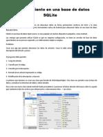5. Almacenamiento en Una Base de Datos SQLite