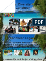 Cultural Diversity in the Caribbean