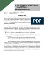 Comunicado 22-3-2010 (Blog)