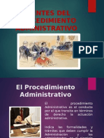 Fuentes Del Procedimiento Administrativo