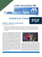 Animal v. Animals