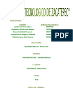 tarea propiedades de los Materiales equipo