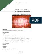 PSR y Periodontograma